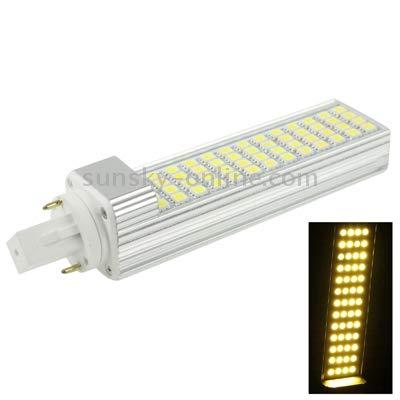 Lamp G24 12W 1000LM LED Transverse Light Bulb, 52 LED SMD 5050, White Light, AC 220V Highly Recommended (Color : Color2)