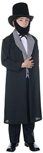 BESTPR1CE Boys Halloween Costume-Abraham Lincoln Kids Costume Large 10-12 ()