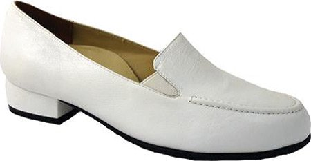 Drew Shoe Womens Arlene Loafers White Caft CnyQJMM