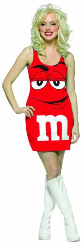 Rasta Imposta M&M's Tank Dress, Red, Teen 13-16