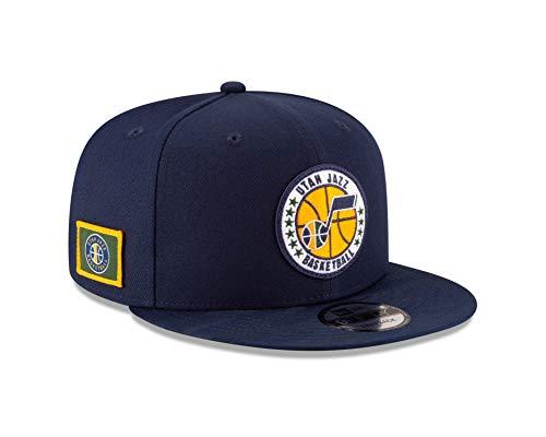 (New Era Utah Jazz 2018 NBA Tip-Off Series 9FIFTY Snapback Adjustable Hat - Olive)