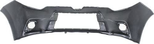 Crash Parts Plus Primed Front Bumper Cover Replacement for 2014-2015 Toyota Corolla