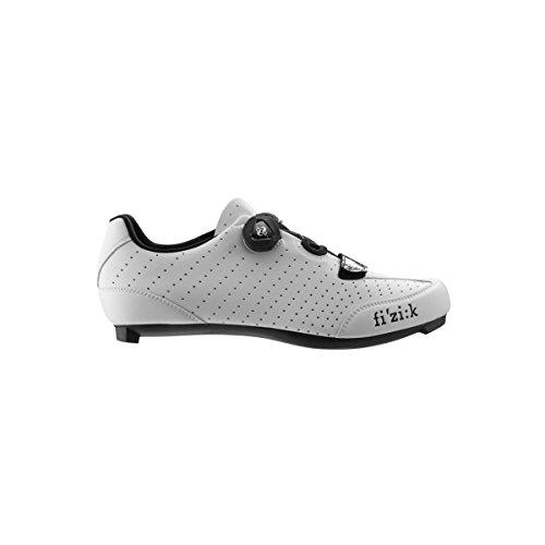 Fizik R3B Rennradschuhe Herren weiß/schwarz Größe 43 2017 Mountainbike-Schuhe