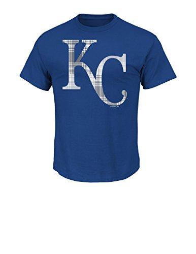 (VF LSG MLB Kansas City Royals Men's Playing Feisty Tee, Small, Royal)