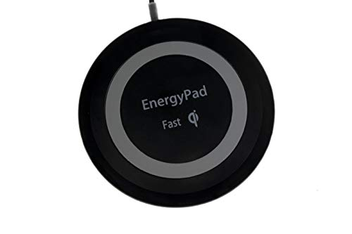 Soopus-X Wireless Charger, 15W Qi-Certified Ultra-Slim IP67 Waterproof Fast Wireless Charging Pad, Compatible iPhone X/XS Max/XR/XS/8, Samsung Note 9/S10/S10 Plus/S10E/S9, Pixel 3/3 XL(No AC Adapter)