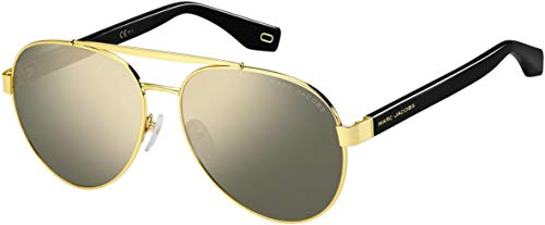 Marc Jacobs Women's Marc 341/S Black/Gold/Grey/Ivory Mirror One ()