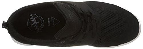 Globe Mahalo Lyte Unisex-erwachsene Sneakers Schwarz (10046 Zwart / Wit)