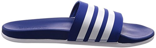 adidas Herren Adilette CF Badeschuhe BlauCroyalFtwwht