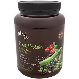 plnt Chocolate Plant Protein Powder with Complete Amino Acid Profile Raw Protein Blend, Easy to Digest Provides Energy, 19g of Protein Per Serving (2 Pound Powder) For Sale