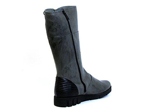 09 94 Boots Women Softwaves grey grau kombi 6 w01nq7YZ