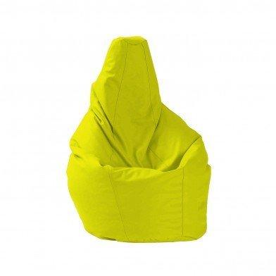 FIAKA Puff pera - L - Verde LIMÓN - Polipiel: Amazon.es: Hogar
