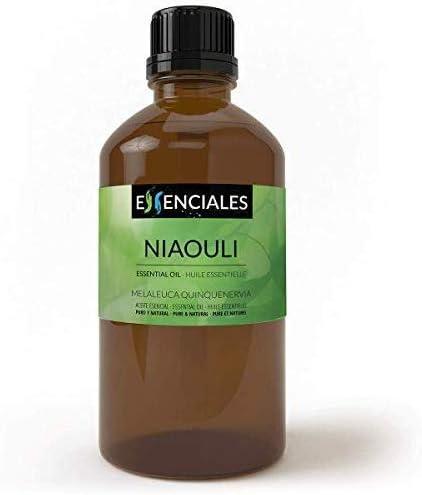 Essenciales - Aceite Esencial de Niaouli, 100% Puro, 100 ml