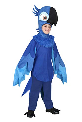 Parrot Costume Baby Boys, Infant Cute Halloween Cosplay Toddler Photography Outfit (Tag Size-4T)