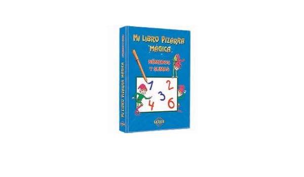 MI LIBRO PIZARRA MAGICA LETRAS Y PALABRAS /NUMEROS Y SUMAS ...