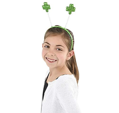 Rhode Island Novelty St Patck fts Day Green Shamrock Head Boppers Hats Set of 6 - http://coolthings.us