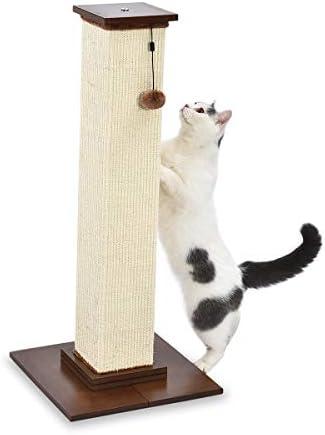 [Amazon.ca] AmazonBasics Large Premium Tall Cat Scratching Post – 16 x 35 x 16 Inches $49.95