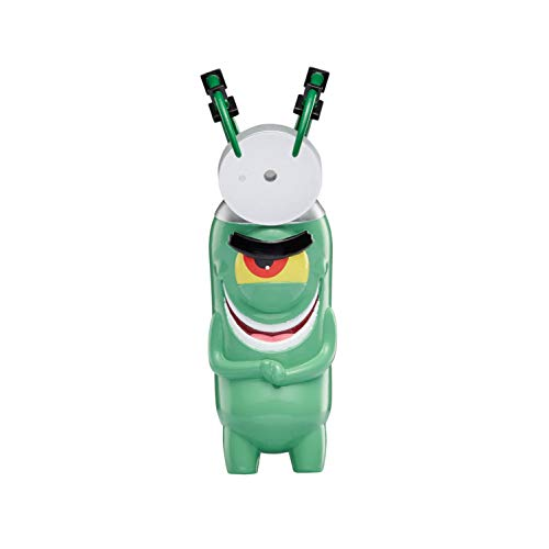 "SpongeBob SquarePants, Spongepop Culturepants, 4.5"" Collectible Vinyl Figure, B-Movie Dr. Plankton"