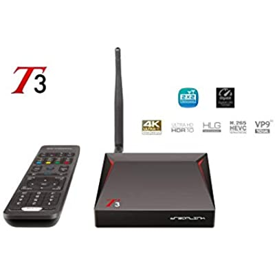 Eazynet Dreamlink Supreme UHD Android Media Streamer with Advanced USB PVR USB  Multiple Portal Connection  Record and Timeshift On-Screen Program Simultaneously Pause and Rewind Live