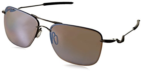 Oakley Men's Tailhook OO4087-07 Rectangular Sunglasses, Titanium, 60 mm