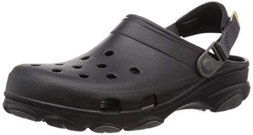 Sandália, Crocs, Classic All Terrain, Black, 39, Adulto Unissex