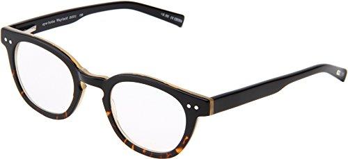eyebobs Unisex Waylaid Readers Black Demi Reading Glasses...