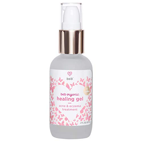 BEB Organic Healing Gel. Soothing Treatment for Preemies, Newborns and Babies. Soothes Acne, Eczema and Irritation on Face, Body and Scalp. (2 fl oz / 59 mL). (Baby Treatment Acne)