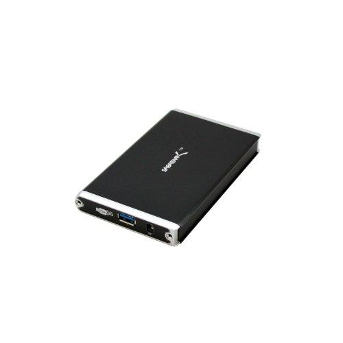"""Sabrent EC-3US25 2.5"""" USB 3.0 SATA Hard Drive Aluminum Enclo"""