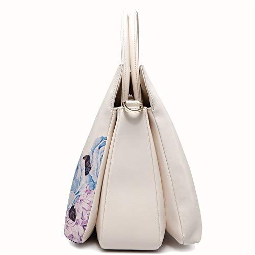 tracolla delle tracolla Totes donna Borsa donne Memoria Borsa a in a pelle a borsa moda a stampa mano a Borse Borsa tracolla tracolla femminile Xuanbao wxWEYgq8SE