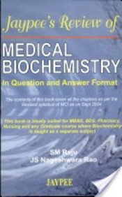 Download Jaypee's Review of Medical Biochemistry in Questions and Answers Format pdf epub