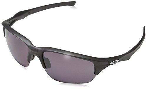 - Oakley Men's Flak Beta Polarized Iridium Rectangular Sunglasses, Steel, 64 mm