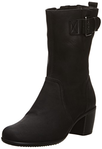 ECCO Touch - Botas Mujer Black