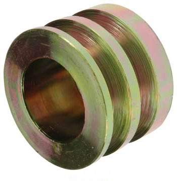 New Pulley, 2-Grooves, 0.67' / 17mm ID, 2.87' / 73mm OD, Delco / 1877007, 3947125/24-1102/202-12003 0.67 / 17mm ID 2.87 / 73mm OD YUHENN
