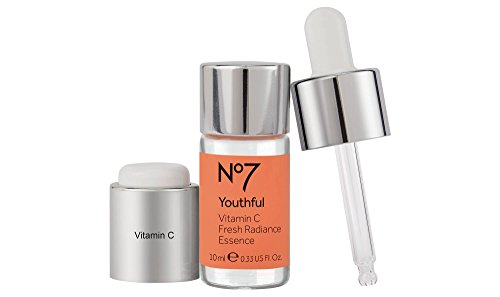 No7 Youthful Vitamin C Fresh Radiance Essence 0.33oz, pack of 1
