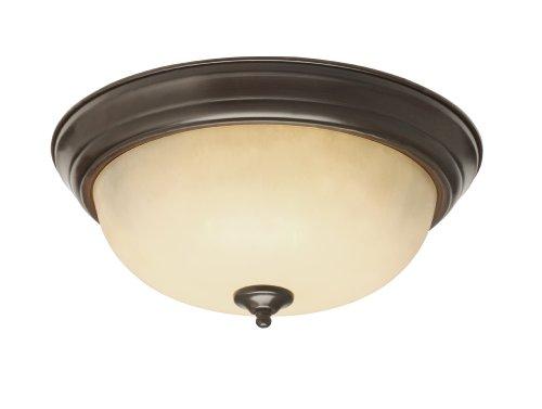 Rob 3 Light Pendant (Trans Globe Lighting 13515 ROB 3-Light Flush-Mount, Rubbed Oil Bronze)