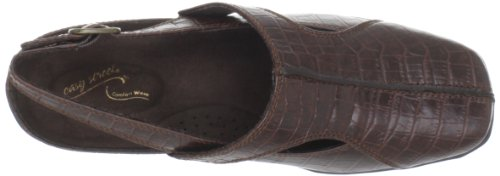 Easy Street Sportster, Mules pour Femme - marron - Brown Croco, 38,5 EU