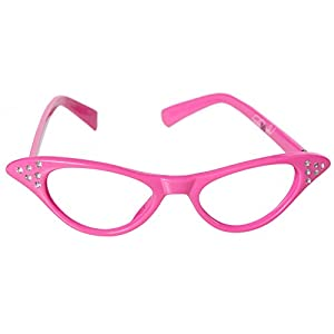 Hip Hop 50s Shop Kids Cat Eye Glasses (Baby/Toddler, Pink)