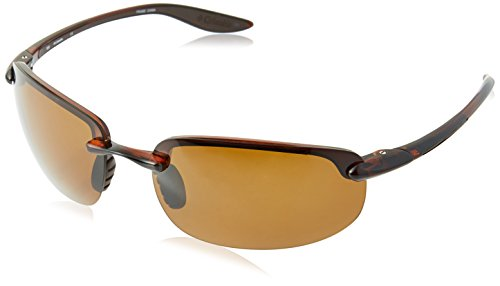 Columbia Men's Unparalleled UNPARALLELED-201 Oval Sunglasses, Brown, 63 mm