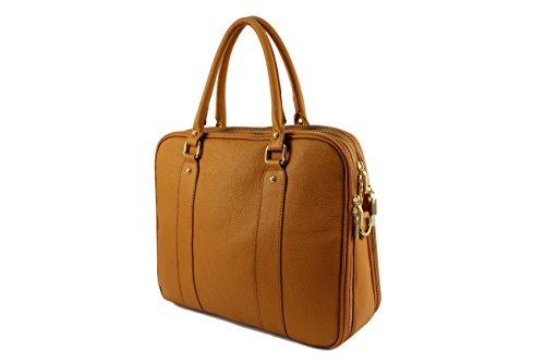 sac Cuir Camel sac Elegantina Homme Plusieurs Fonce Elegantina sac Rouge Clair sac sac Femme Bureau Italie Sac Coloris Chloly Italie Mixte Sq8p8