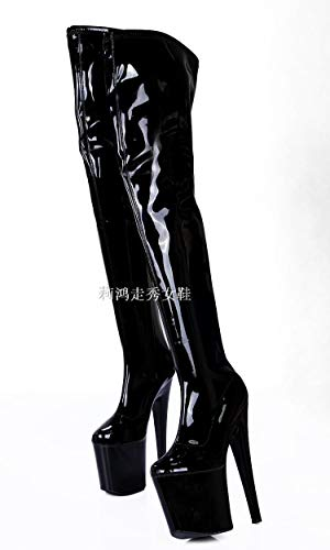 shoes waterproof boots 20 table model black cm knee Forty T high super qqHSv