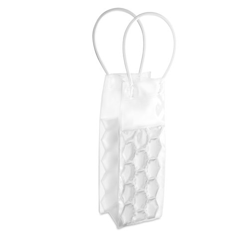 eBuyGB Can/Wine/Champagne Bottle Ice Bag – Cooler Cooling Holder Gel Carrier Chilling (Clear)