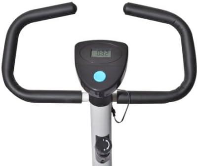HOMCOM Bicicleta Estatica Spinning Fitness Carga MAX 120 Kg ...