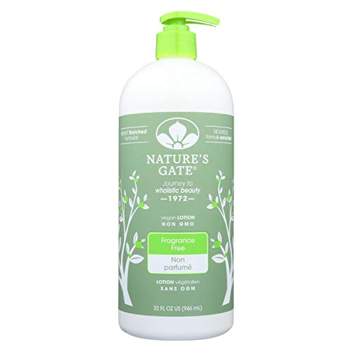 Fragrance Free Lotion Nature's Gate 18 oz Lotion