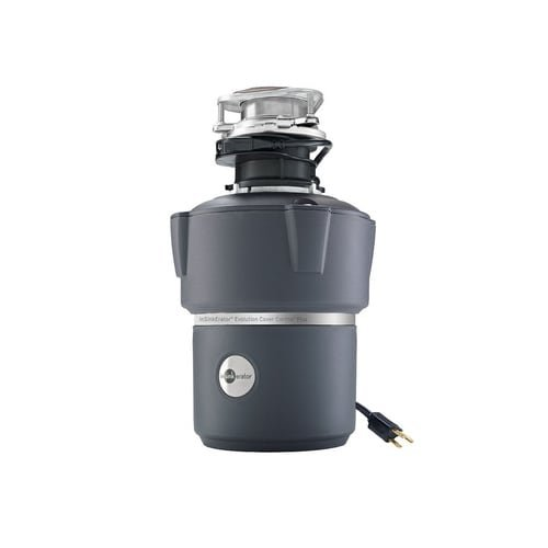 Feed Refurbished (InSinkErator COVER CONTROL PLUS Evolution 3/4 HP Batch Feed Garbage Disposal wit, Power Cord Included)
