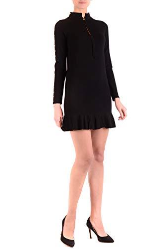set Negro Mujer Vestido Viscosa Twin Mcbi36775 FqCxf
