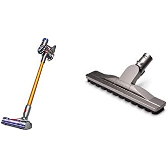 Dyson V8 Absolute Cord-Free and Dyson Articulating Hard Floor Tool Bundle