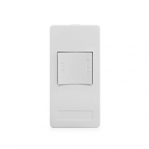 XP1-W-NS NEW STYLE 1 BUTTON KEYPAD, 1 ON/OFF SINGLE CODE, WHITE XP1 Version A -
