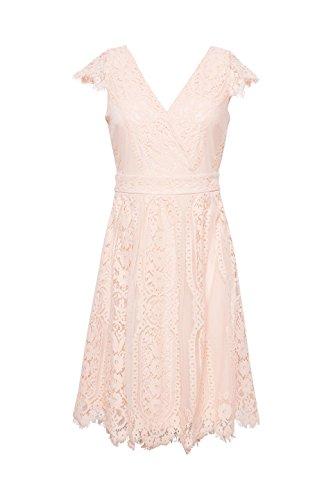 Pink ESPRIT Partykleid Damen Pastel 695 Rosa Collection XXwCUxS