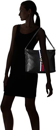 Chloride Jaden for Polyvinyl Hobo Black Women Tommy Hilfiger Purse vgwzqn4