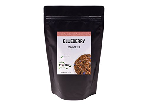 (The Spice Hut Blueberry Loose Leaf Rooibos Tea, 8 oz)