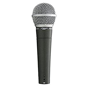Pyle Dynamic Microphone, Professional Moving Coil Handheld Mic With 6.5' Ft. Xlr Cable from PYLE